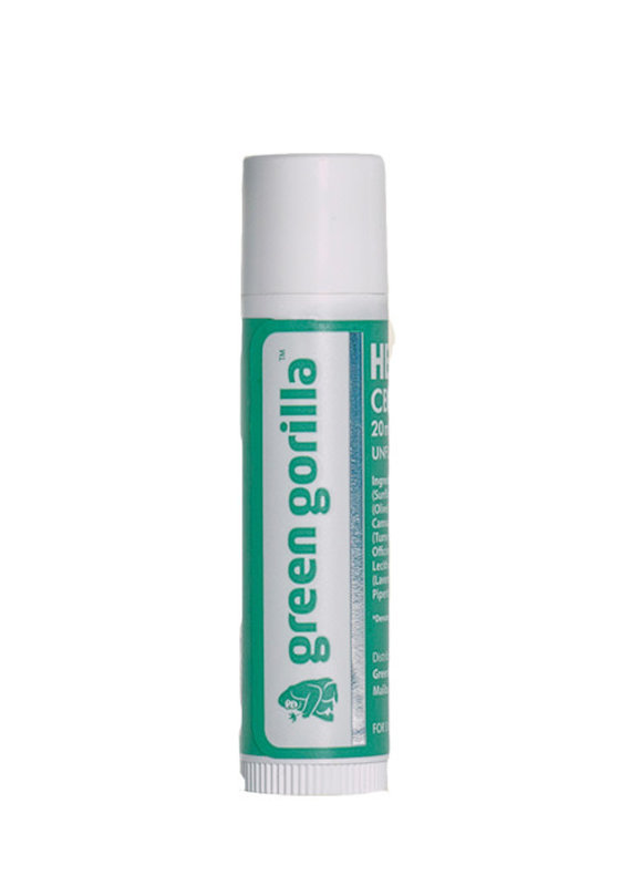 Green Gorilla Green Lip Balm