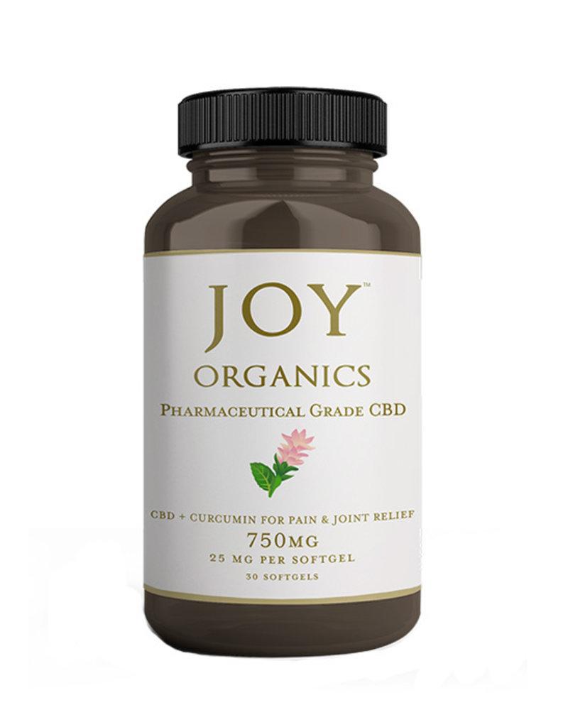 Joy Organics Joy Softgels 25 mg CBD + Curcumin