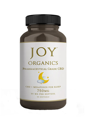 Joy Organics Joy Softgels 25 mg CBD + Melatonin