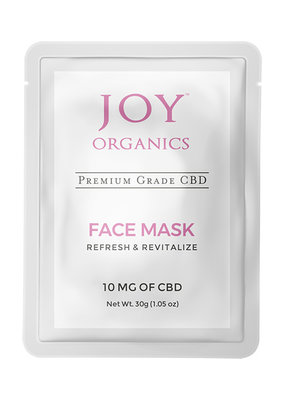 Joy Organics Joy CBD Face Mask 10 mg