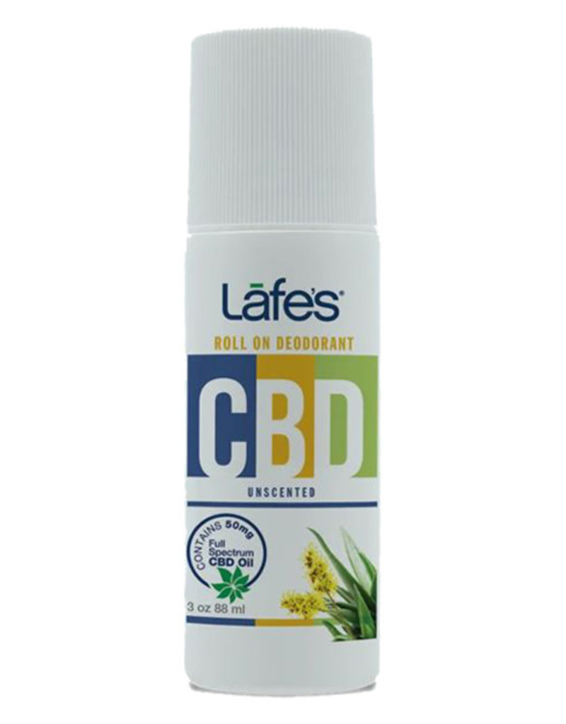 Lafe's Lafe's CBD Roll On Deoderant