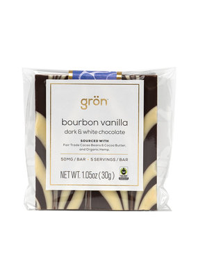 Gron Gron Bourbon Vanilla Dark Chocolate (50mg)