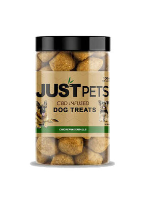 JustCBD JustCBD Dog Treats Chicken Meatballs 100 mg
