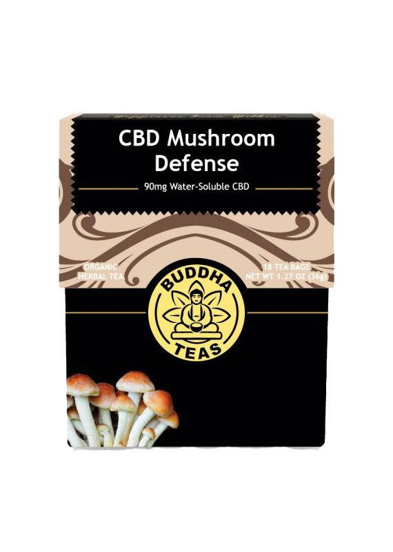 Buddha Buddha CBD Teas 90 mg Mushroom Defense