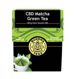 Buddha Buddha CBD Teas 90 mg Matcha Green