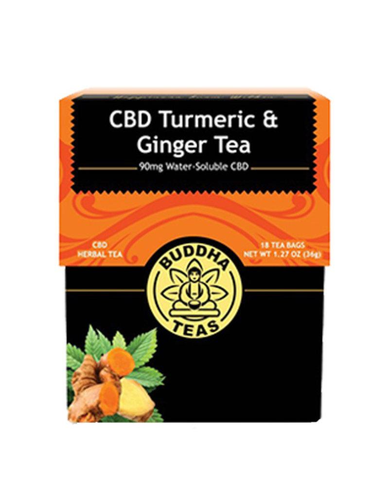Buddha Buddha CBD Teas 90 mg Tumeric Ginger