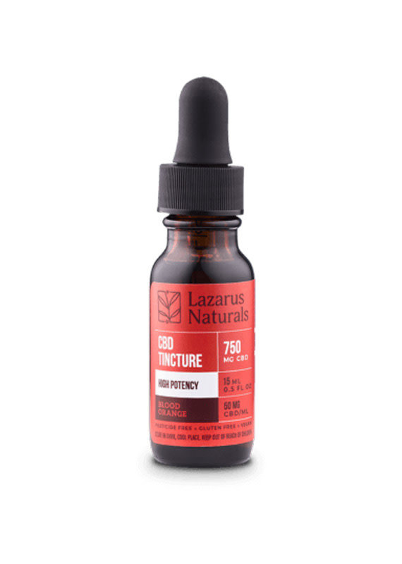 Lazarus Naturals Lazarus Naturals High Potency Isolate Tincture 750
