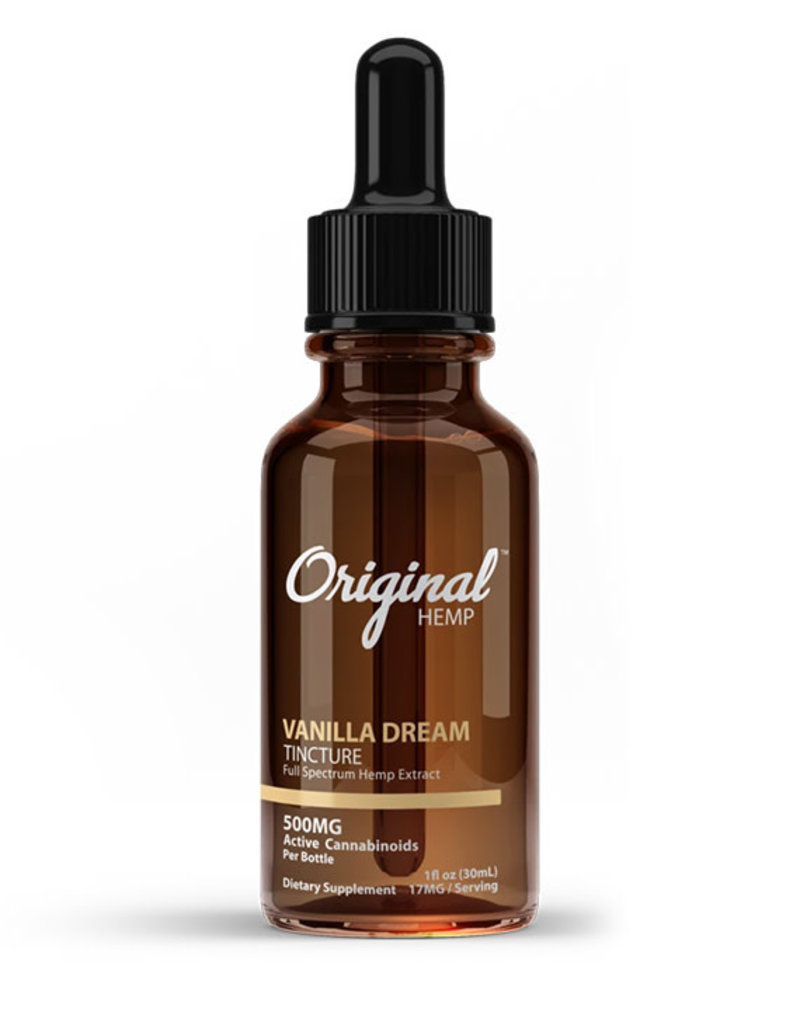 Original Hemp Original Hemp CBD Tincture Vanilla Dream