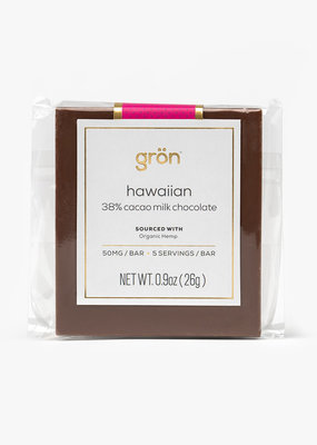 Gron Gron Hawaiian Milk Chocolate (50mg)