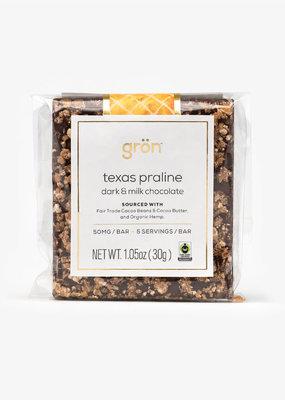 Gron Gron Praline Dark Milk Chocolate (50mg)