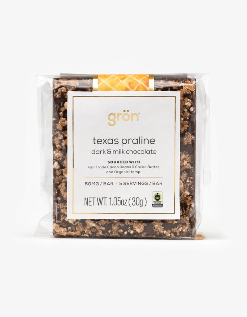 Gron Gron Praline Dark Milk Chocolate (50mg)