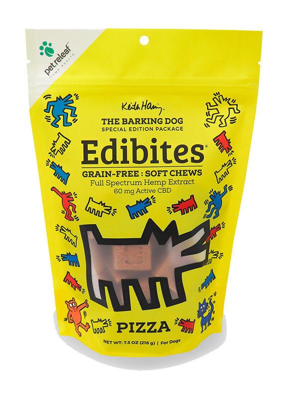 Pet Releaf Pet Releaf Edibites Keith Haring - Pizza