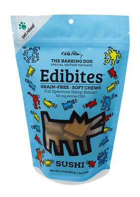 Pet Releaf Pet Releaf Edibites Keith Haring -  Sushi