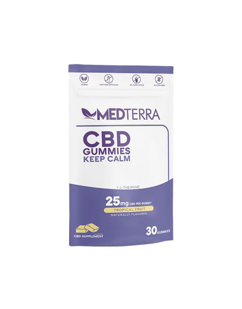 Medterra Medterra Gummies 30 ct Keep Calm