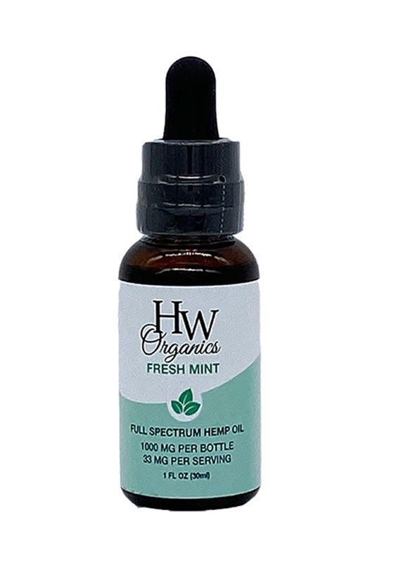 HW Organics HW Org Full 1000 mg - Mint
