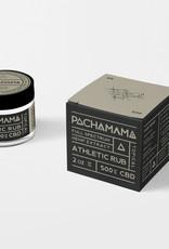 Pachamama Pachamama CBD Athletic Rub 2 oz 500 mg