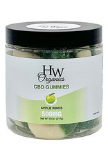 HW Organics HW Gummy Apple Rings 500 mg