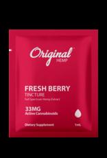 Original Hemp Original Hemp Daily Dose 33mg CBD Single Serving Berry