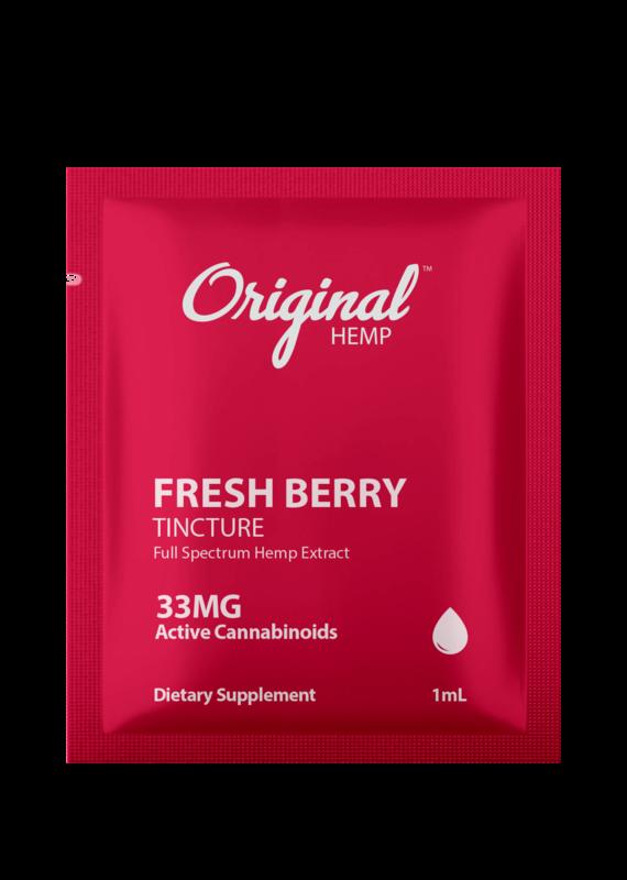 Original Hemp Original Hemp Daily Dose 33mg Single -Berry