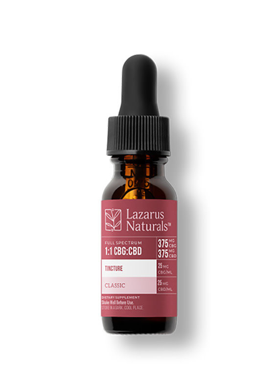 Lazarus Naturals Lazarus High Potency Full Spectrum 750 mg 1:1 CBG:CBD