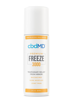 cbdMD CBDMD Freeze 3000 mg 3 oz Roll-on