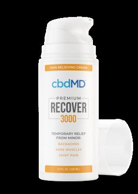 cbdMD CBDMD Recover Airless Pump 3.4oz 3000 mg