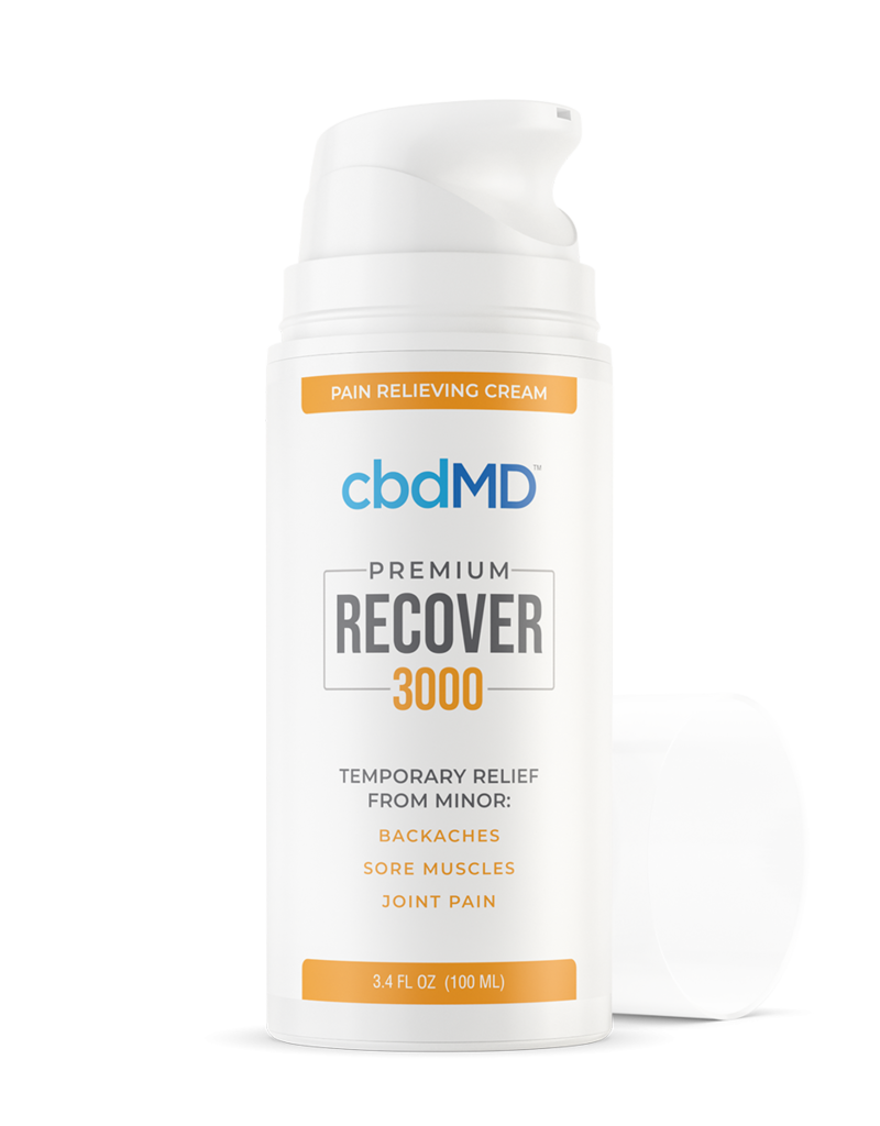 cbdMD CBDMD Recover Airless Pump 3.4oz 3000 mg