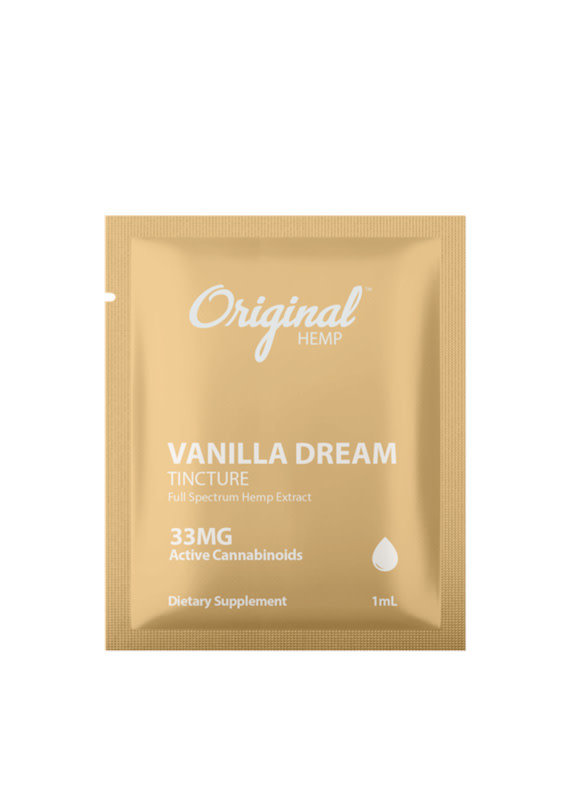 Original Hemp Original Hemp Daily Dose 33 mg Single - Vanilla Dream