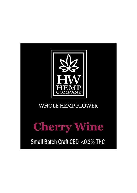 HW Hemp Co HW Hemp Company Cherry Wine CBD Flower