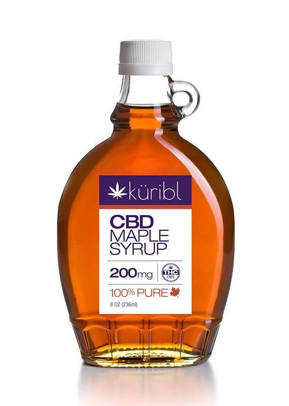 kuribl Kurbl CBD Maple Syrup