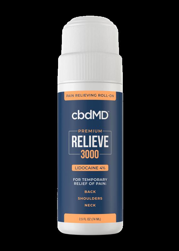 cbdMD cbdMD Relieve 3000 mg Lidocaine