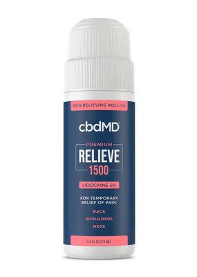 cbdMD cbdMD Relieve 1500 mg Lidocaine Roll-on