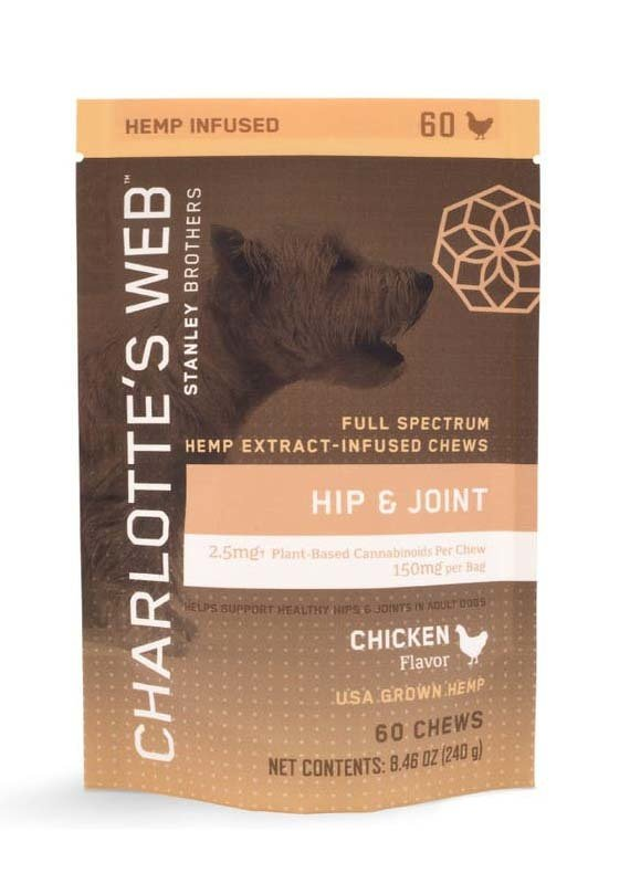 Charlottes Web Charlott'es Web Canine Chews Hip and Joint