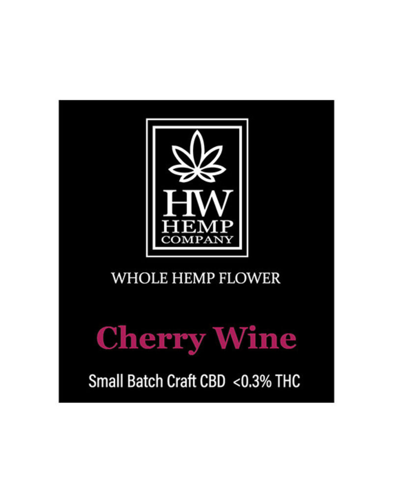 HW Hemp Co HW Hemp Company Cherry Wine Premium CBD Flower