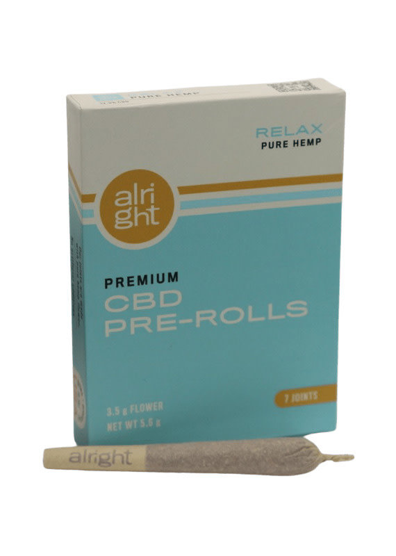 Alright Relax Preroll 7ct