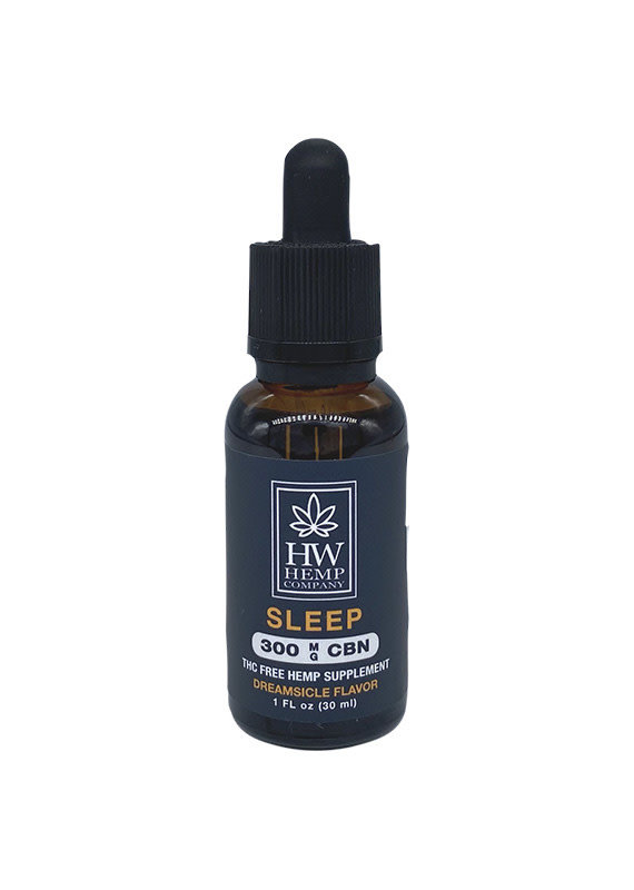 HW Hemp Co HW Hemp Company Sleep CBN Oil 300 mg
