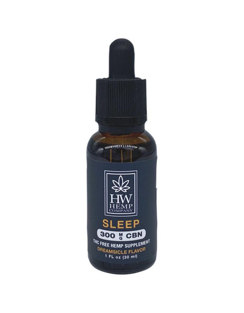 HW Hemp Co HW Hemp Company Sleep CBN Oil 300 mg 30 ml