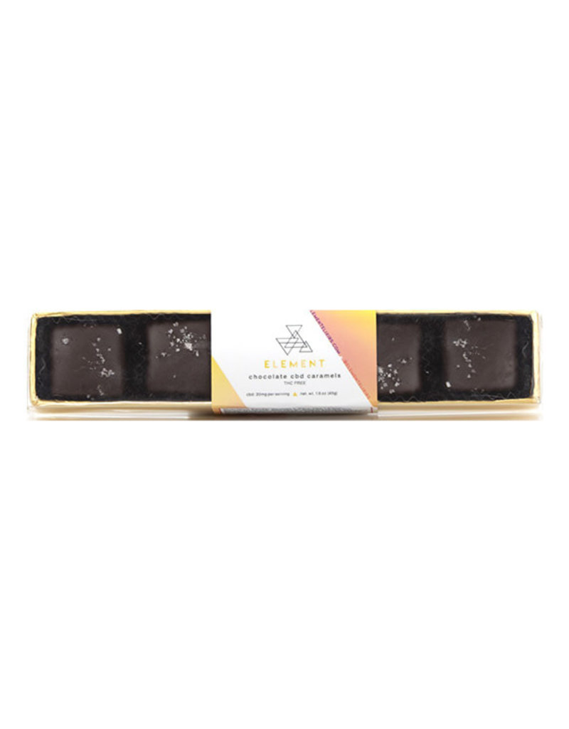 Element Element Chocolate Caramel 5 ct (100mg)
