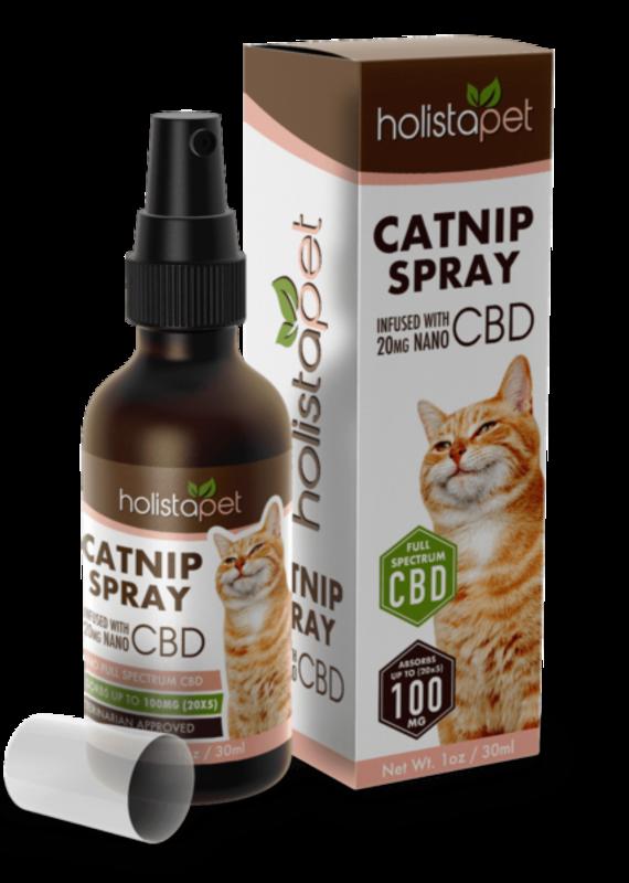 HolistaPet HolistaPet Catnip Spray with CBD