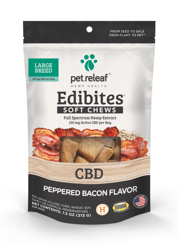 Pet Releaf PR Soft CBD Peppered Bacon