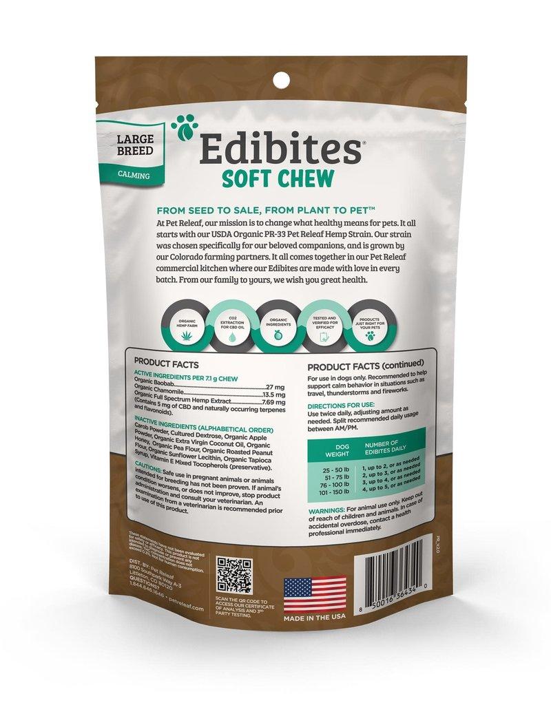 Pet Releaf Pet Releaf Soft Chew Edibite Peanut Butter Carob