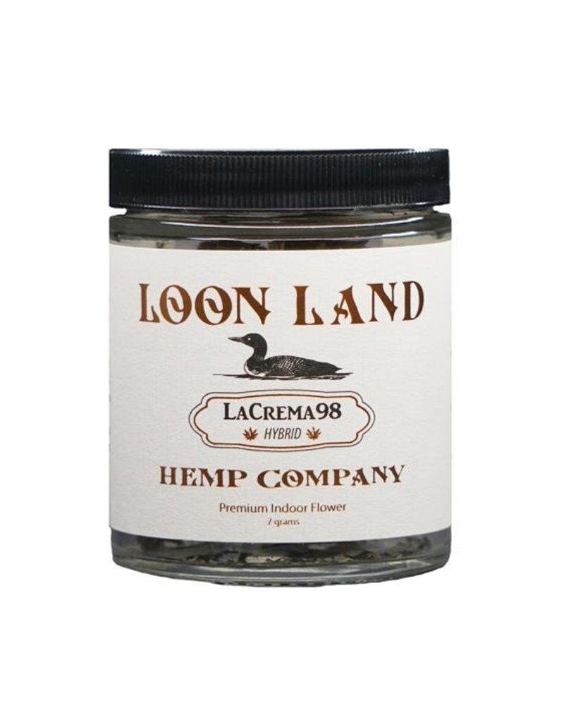 Loon Land Hemp Company La Crema 98 7g Jar