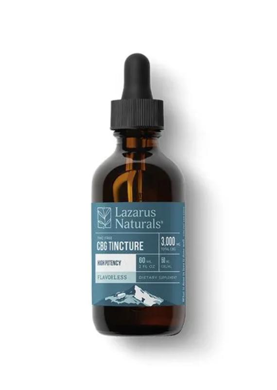 Lazarus Naturals Lazarus Naturals CBG Isolate 60 ml