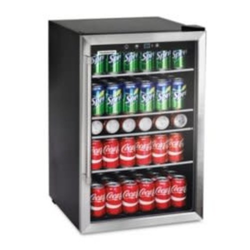 Frigidaire Frigidaire 126-Can Stainless Steel Beverage Center, 4.4 cu. ft.