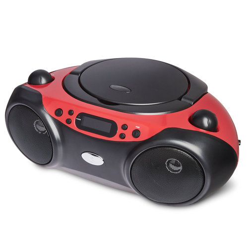 onn. onn. CD Boombox with Bluetooth Wireless Technology