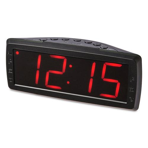 onn. onn. Digital Alarm Clock with Radio