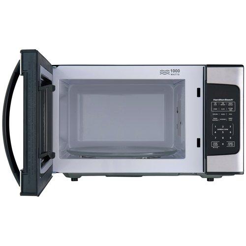 Hamilton Hamilton Beach 1.1 Cu. Ft. 1000W Stainless Steel Microwave