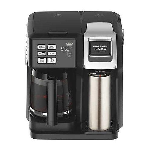 Hamilton Hamilton Beach Flexbrew A122 Single Serve Coffee Maker Pods And Ground
