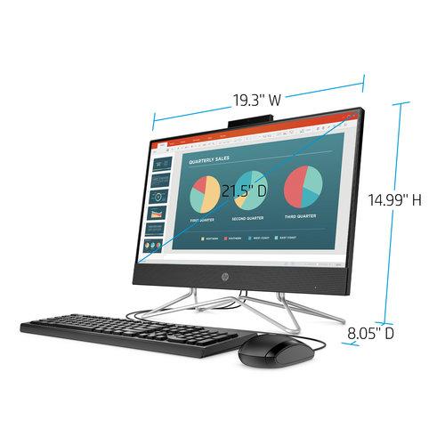 HP HP 22 AIO R3 Touch 8GB/1TB Desktop All-In-One  (Model: 22-df0023w)