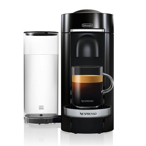Delonghi Nespresso VertuoPlus Deluxe Coffee and Espresso Machine by De'Longhi, Black ENV155B